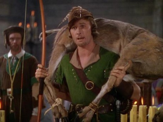 Errol Flynn in 1938's The Adventures of Robin Hood