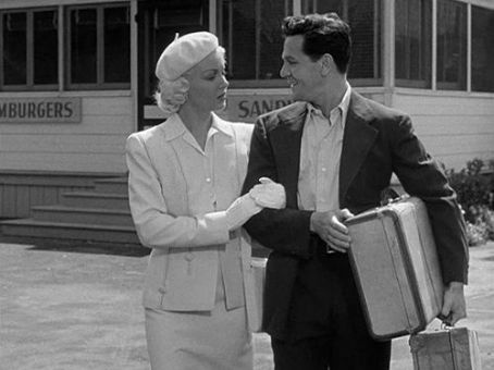 Lana Turner and John Garfield in 1946's The Postman Always Rings Twice