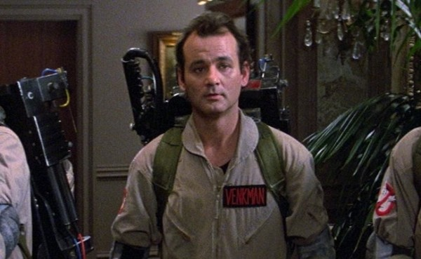 Bill Murray in 1984's Ghostbusters