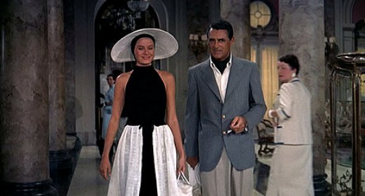 Cary Grant and Grace Kelly in 1955's To Catch A Thief