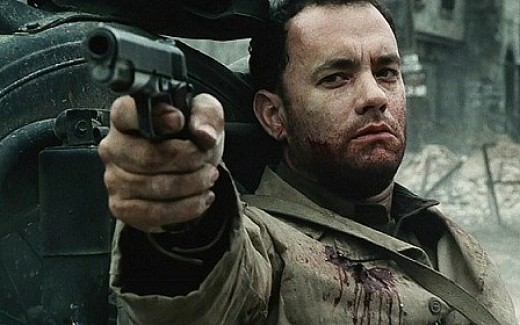 Tom Hanks in 1998's Saving Private Ryan