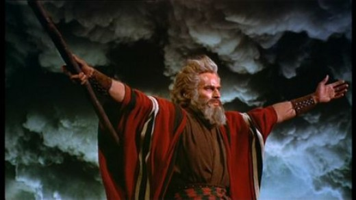 Of all the Charlton Heston movies none made more at the box office than 1956's The Ten Commandments