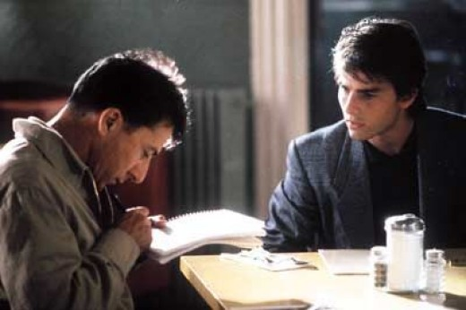 Dustin Hoffman and Tom Cruise in 1988's Rain Man