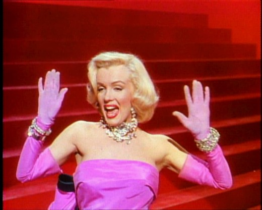 Marilyn Monroe in 1953's Gentlemen Prefer Blondes