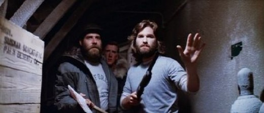 Kurt Russell in 1981's The Thing.