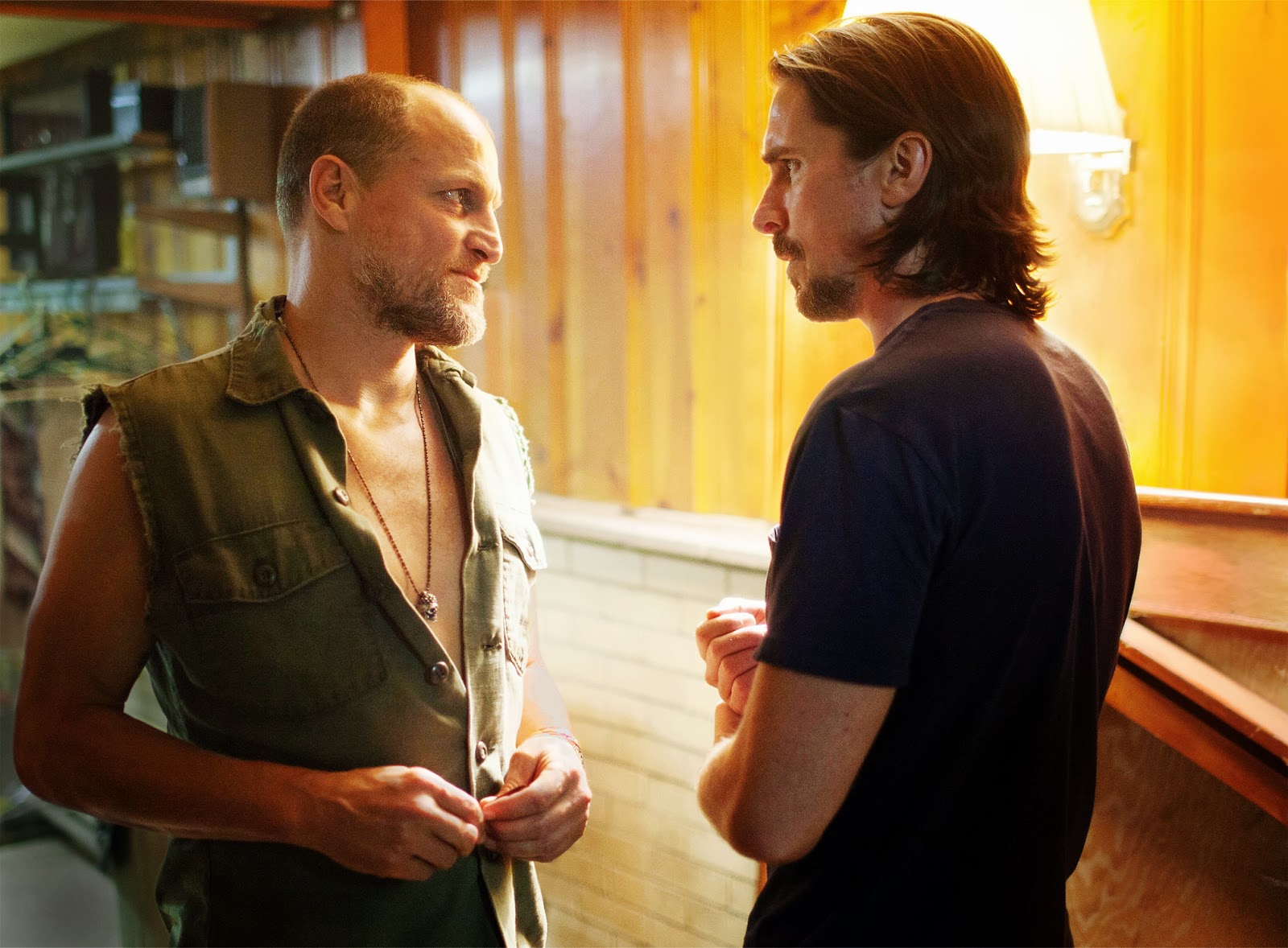 Woody Harrelson and Christian Bale in 2013's Out of the Furnace...a Woody role that did not get enough attention!