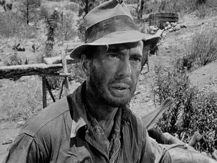 Humphrey Bogart in 1948's The Treasure of the Sierra Madre