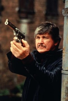 Charles Bronson played vigilante Paul Kersey five times in the Death Wish movies from 1974 to 1994.