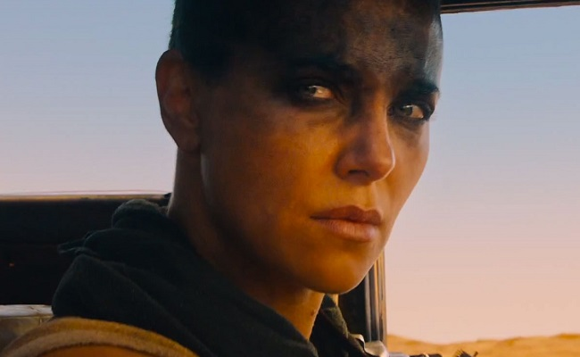 Charlize Theron in 2015's Mad Max: Fury Road