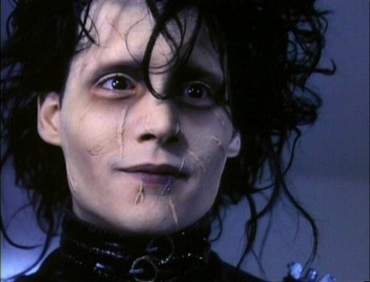 Johnny Depp in 1990's Edward Scissorhands