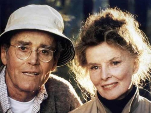 Henry Fonda and Katharine Hepburn in 1981's On Golden Pond