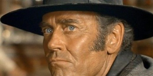 Henry Fonda in 1968's Once Upon A Time in the West