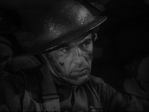 Gary Cooper in the Howard Hawks directed movie Sergeant York (1941)....easily Hawks' biggest box office hit.