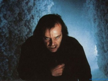 Jack Nicholson in 1980's The Shining