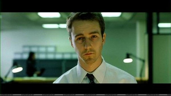 Edward Norton in 1999's Fight Club