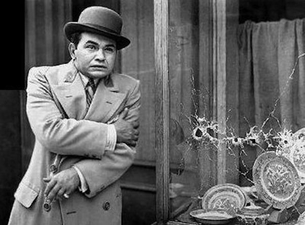 Edward G. Robinson in 1931's Little Caesar...the movie that made him a star.