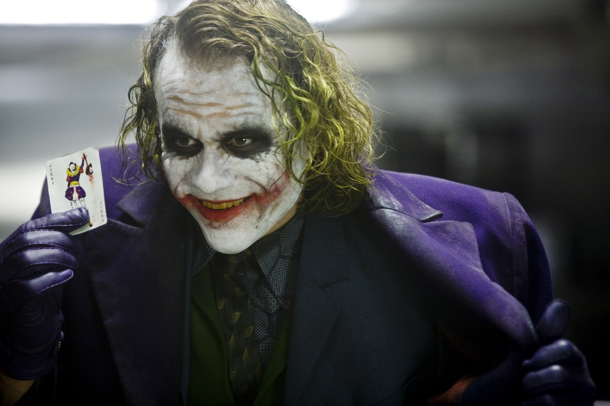 Heath Ledger in DC's The Dark Knight (2008)