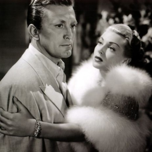 Kirk Douglas and Lana Turner in 1952's The Bad and the Beautiful