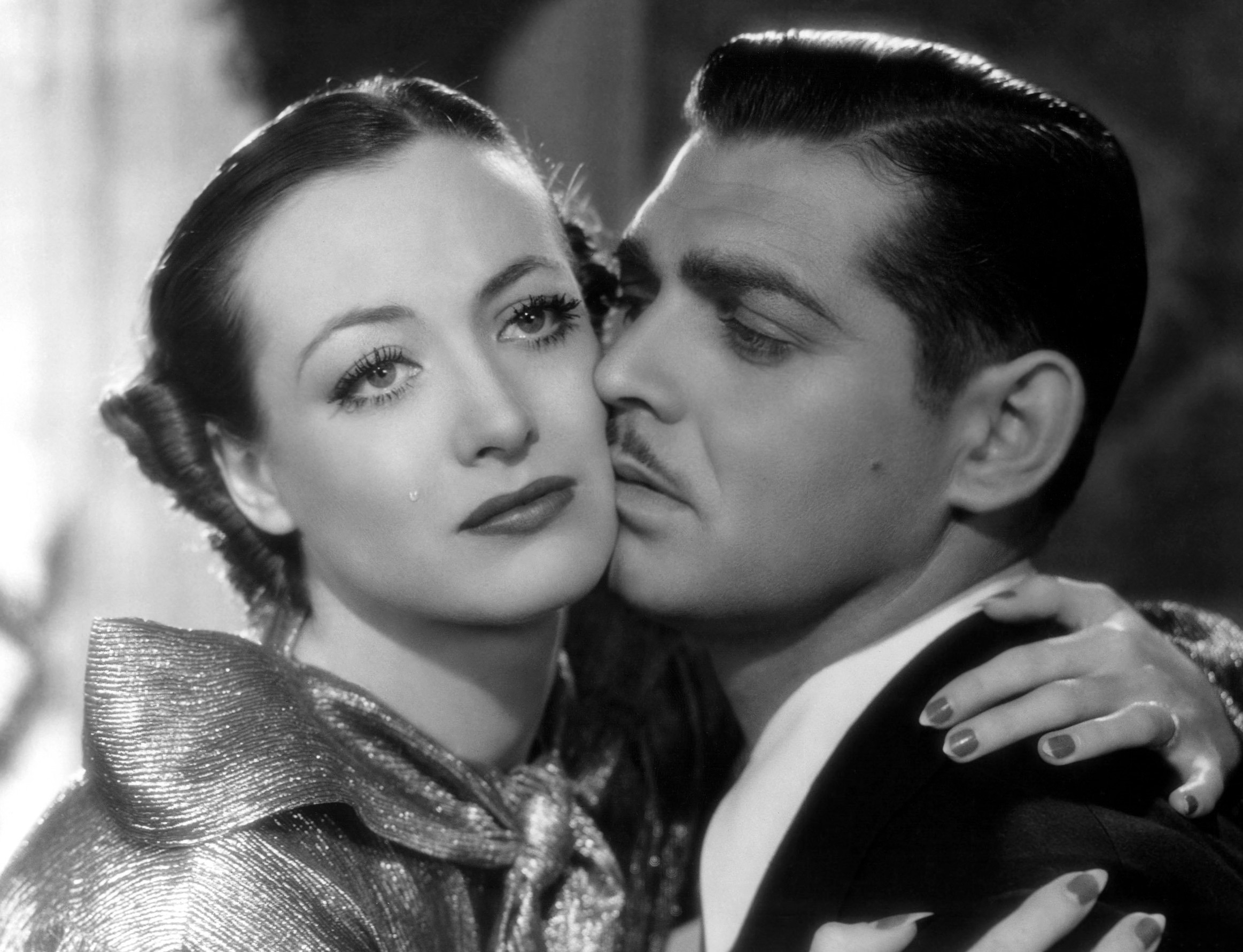 Joan Crawford and Clark Gable in 1934's Chained...her 9th biggest box office hit.