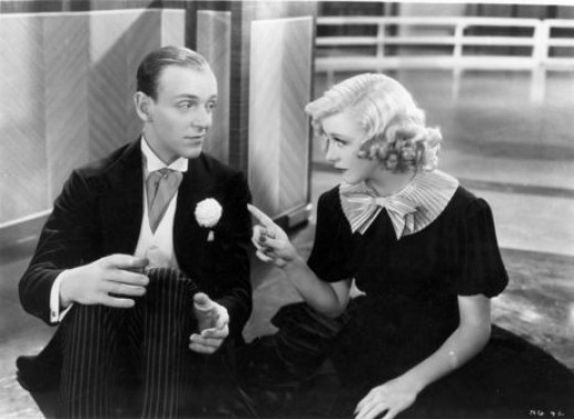 Fred Astaire and Ginger Rogers in 1936's Swing Time