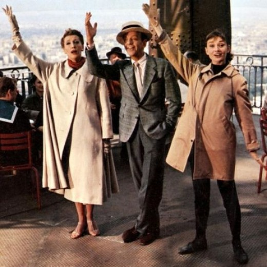 Fred Astaire and Audrey Hepburn in 1957's Funny Face