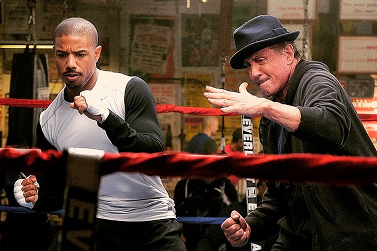 Stallone's latest movie, Creed, is getting some of the best reviews of his career.