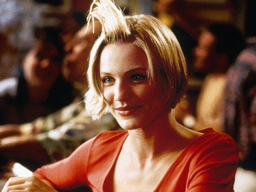 Cameron Diaz in 1998's There's Something About Mary.