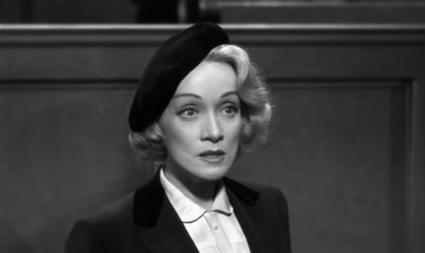 Marlene Dietrich in 1957's Witness For The Prosecution