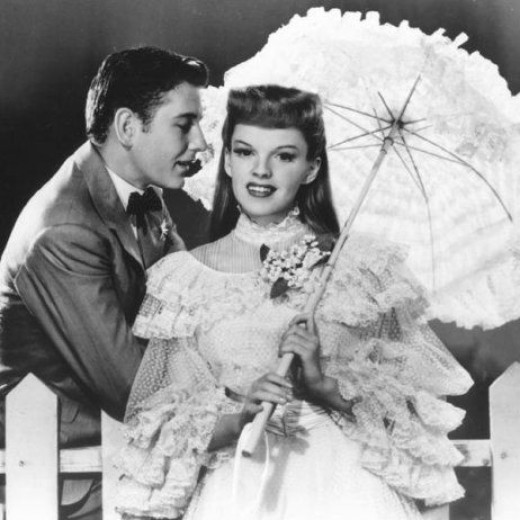 Judy Garland in 1944's Meet Me In St. Louis...which was surprisingly her biggest box office hit of her career.