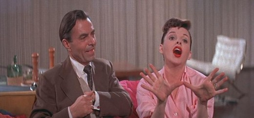 James Mason and Judy Garland in 1954's A Star Is Born.