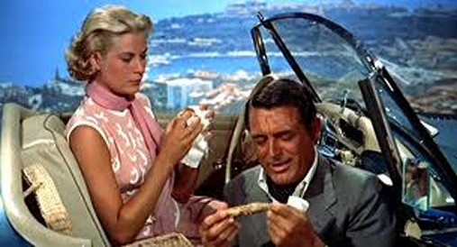 Grace Kelly and Cary Grant in 1955's To Catch A Thief