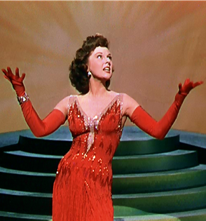 Susan Hayward in 1952's With A Song In My Heart.
