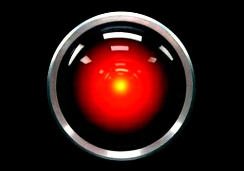 HAL from 2001: A Space Odyssey (1969)...just one of the Kubrick classic movies.