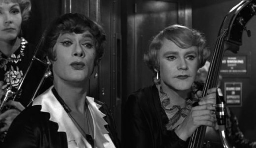 Tony Curtis and Jack Lemmon 1959's Some Like It Hot.