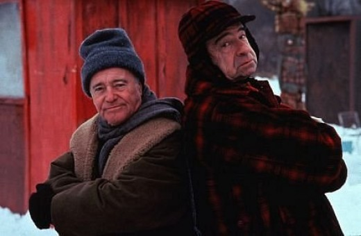 Jack Lemmon and Walter Matthau in 1993's Grumpy Old Men