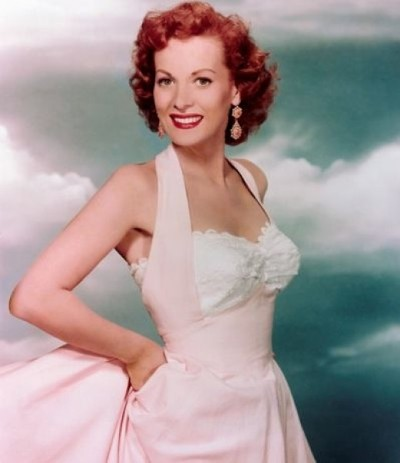 Maureen O'Hara starred in close to 60 movies from 1938 - 1991