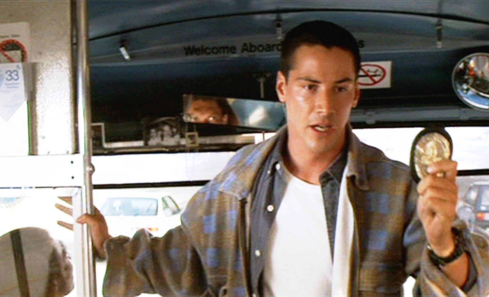 Keanu Reeves in 1994's Speed