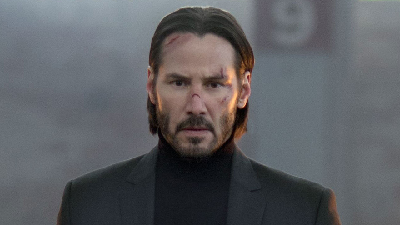 Keanu Reeves in 2014's John Wick