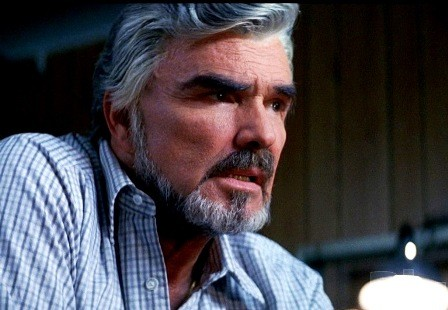 Burt Reynolds in his award winning role in 1997's Boogie Nights