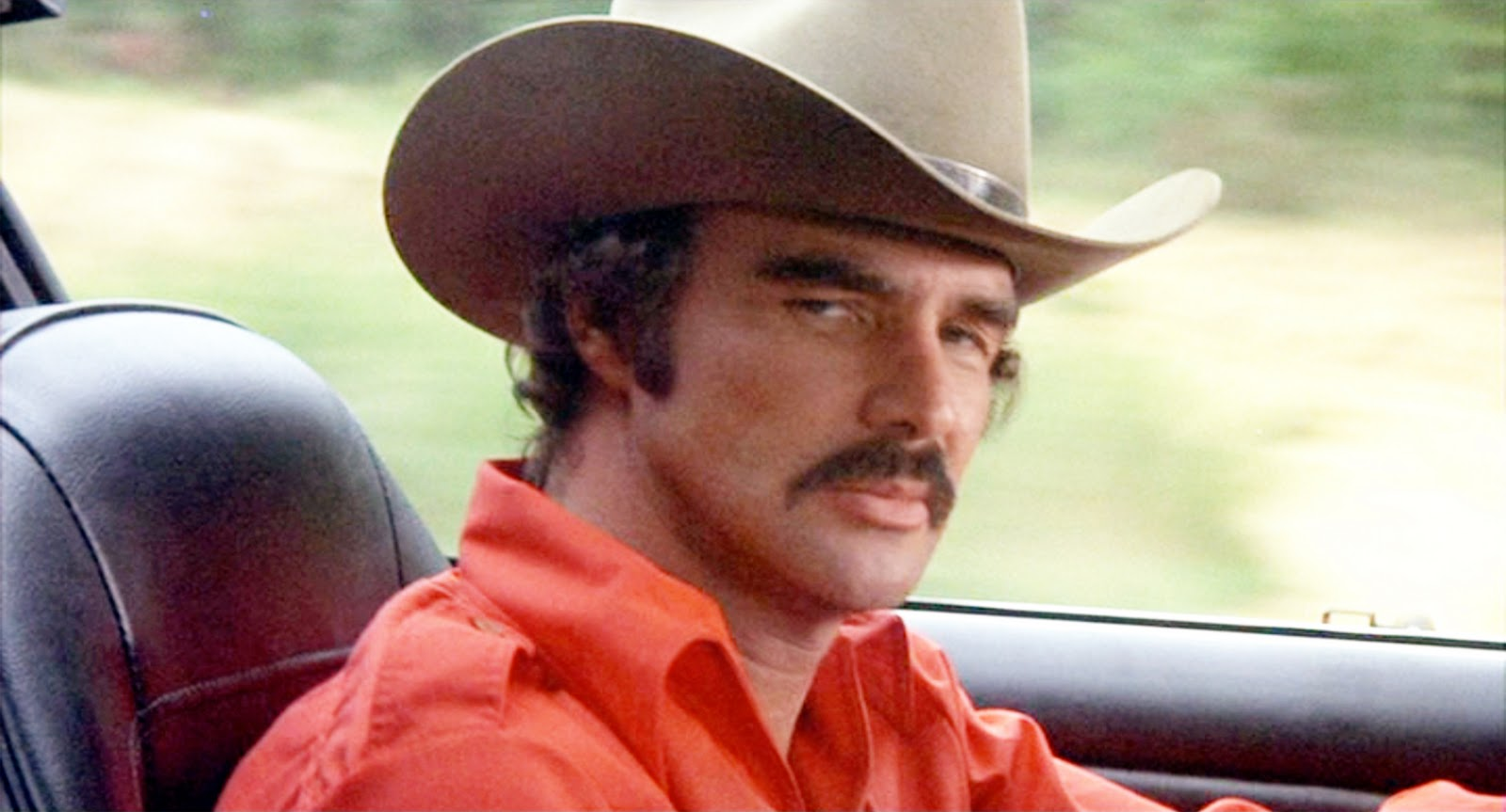 Burt Reynolds in 1977's Smokey and the Bandit....easily his biggest box office hit