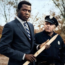 Sidney Poitier and Rod Steiger in 1967's Best Picture Oscar® Winner.....In the Heat of the Night.