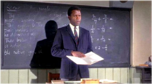 Sidney Poitier in 1967's To Sir With Love
