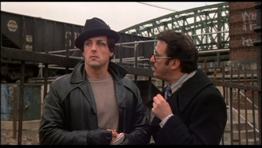 Sylvester Stallone in 1976's Rocky