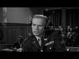 Richard Widmark in 1961's Judgment at Nuremberg