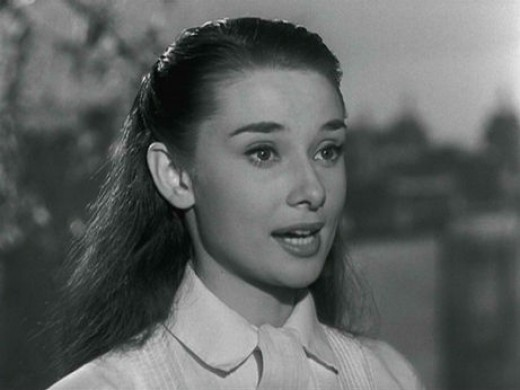 Audrey Hepburn in 1953's Roman Holiday