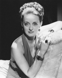 Bette Davis was voted as the 2nd greatest actress of all time according to the American Film Institute.