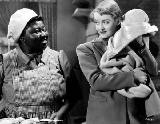 Hattie McDaniel and Bette Davis in 1941's The Great Lie