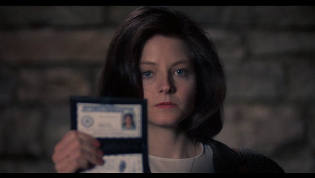 Jodie Foster in 1991's The Silence of the Lambs