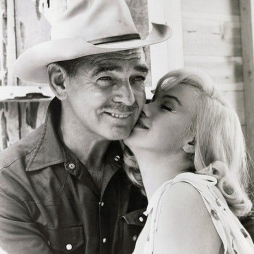 Clark Gable and Marilyn Monroe is 1961's The Misfits