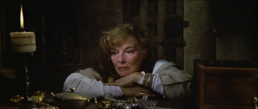 Katharine Hepburn in 1968's The Lion In Winter